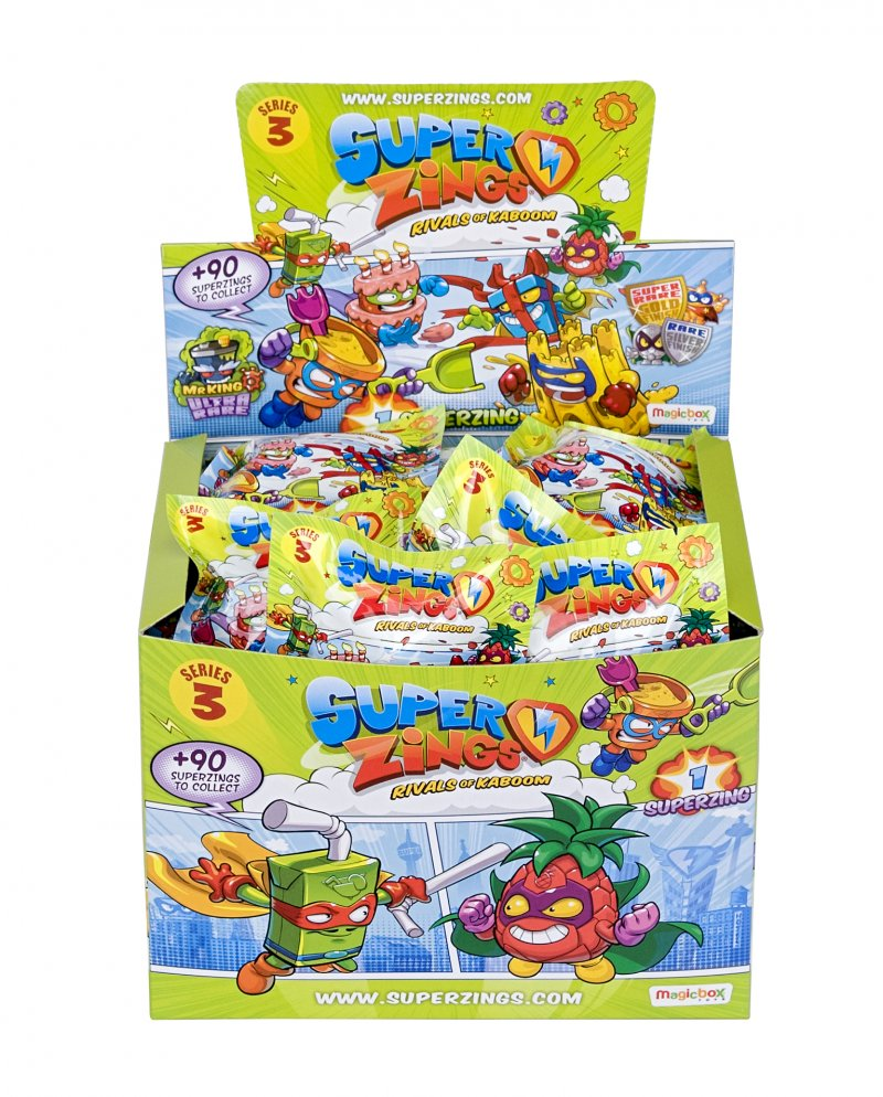 Wholesale Superzings Series 3 - PACKETS Toys Blind Bags (50 pcs)