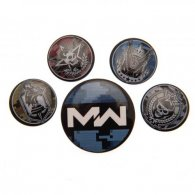 Call Of Duty Modern Warfare Button Badge Set