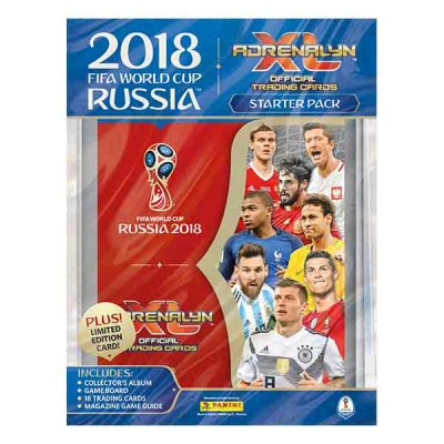 Wholesale Panini Adrenalyn XL World Cup Russia 2018 STARTER PACK
