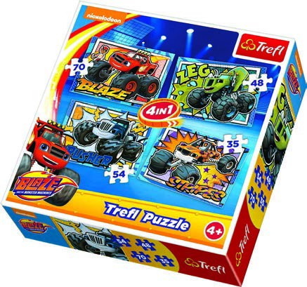 Wholesale Blaze and the Monster Machines 4 in 1 Puzzle