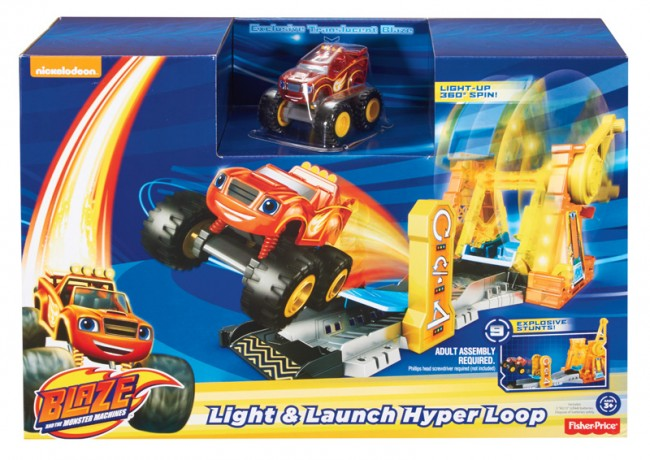 Wholesale Blaze and the Monster Machine Light Launch Hyper Loop