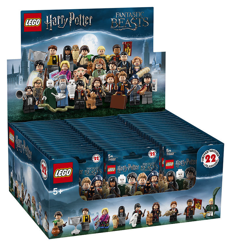 Wholesale Lego Minifigures Harry Potter & Fantastic Beasts (60)