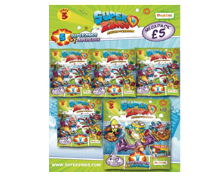Wholesale Superzings Series 3 - MEGAPACK Toys Figures
