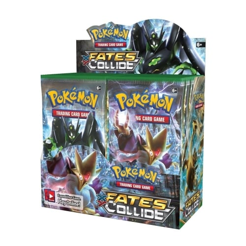 Wholesale Pokemon XY10 FATES COLLIDE Trading Card Boosters