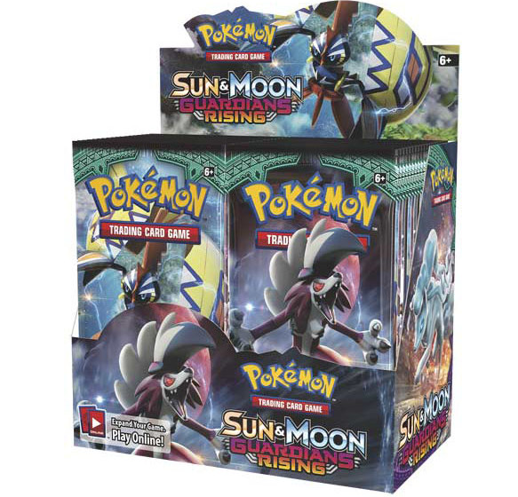 Wholesale Pokemon Trading Card Game GUARDIANS RISING Booster Box
