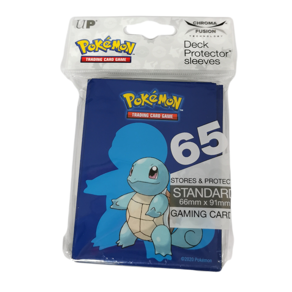 Wholesale Pokemon Squirtle Deck Protector Sleeves (65 cnt)