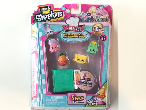 Wholesale Shopkins Chef Club 5 Pack Season 6 Figure Toys (5 pcs)
