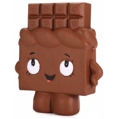 Wholesale Squishies Squishy Slow Rising CHOCOLATE BROWN (3 pcs)
