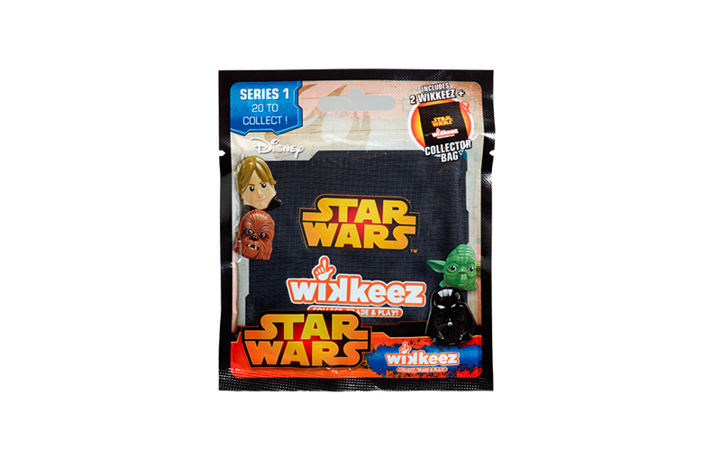 Wholesale Star Wars Wikkeez Collector Bags Series 1 Toy (24 pcs)