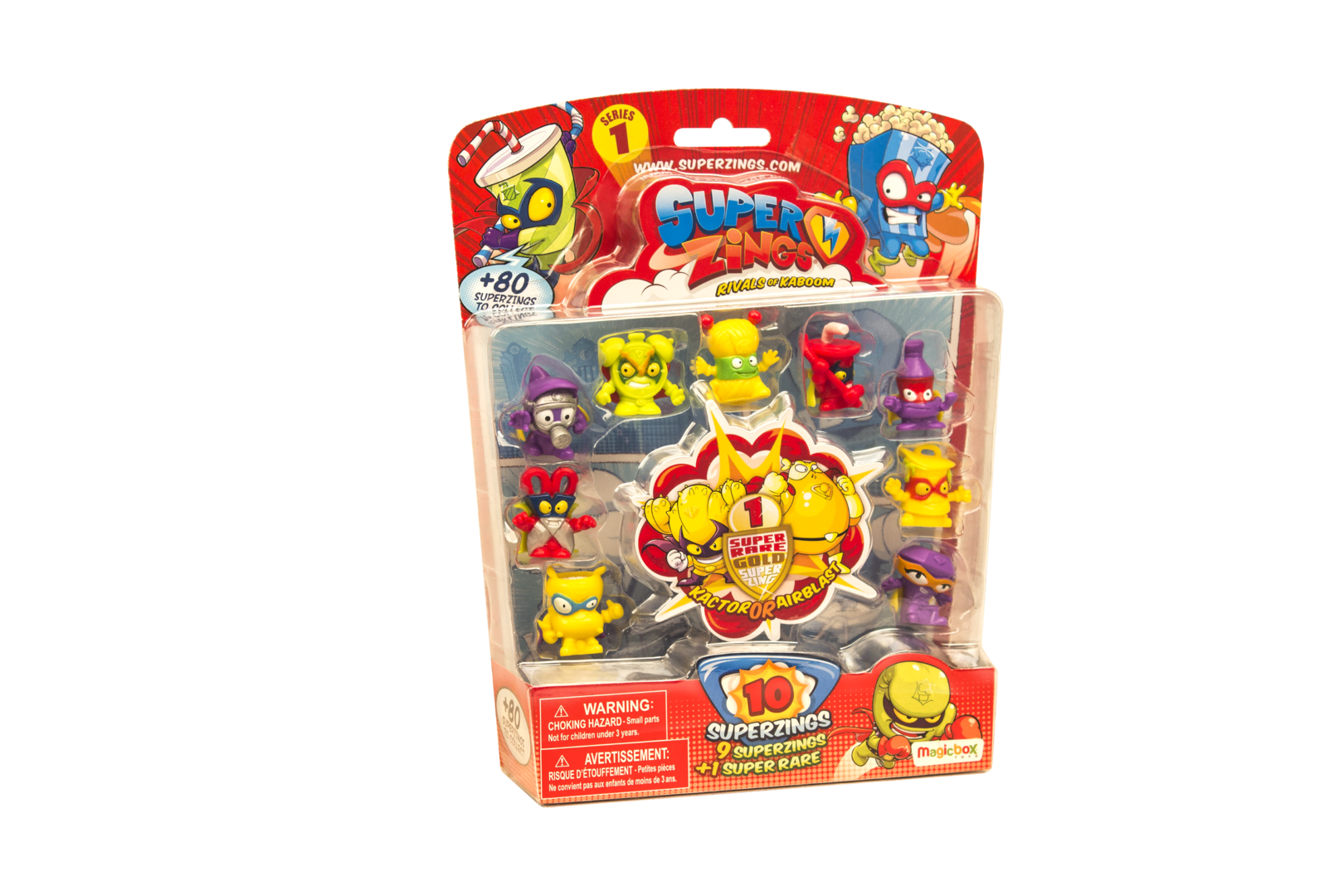 Wholesale SuperZings Rivals of Kaboom 10 FIGURE BLISTER (6 pack)