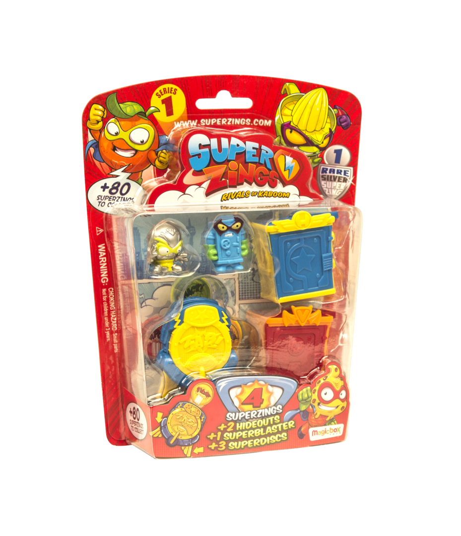 Wholesale SuperZings Rivals of Kaboom BLISTER HIDEOUT (6 packs)