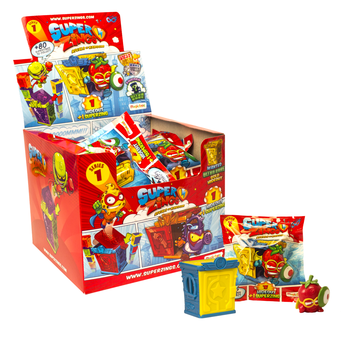 Wholesale SuperZings Rivals of Kaboom Series 1 HIDEOUT (24 pack)
