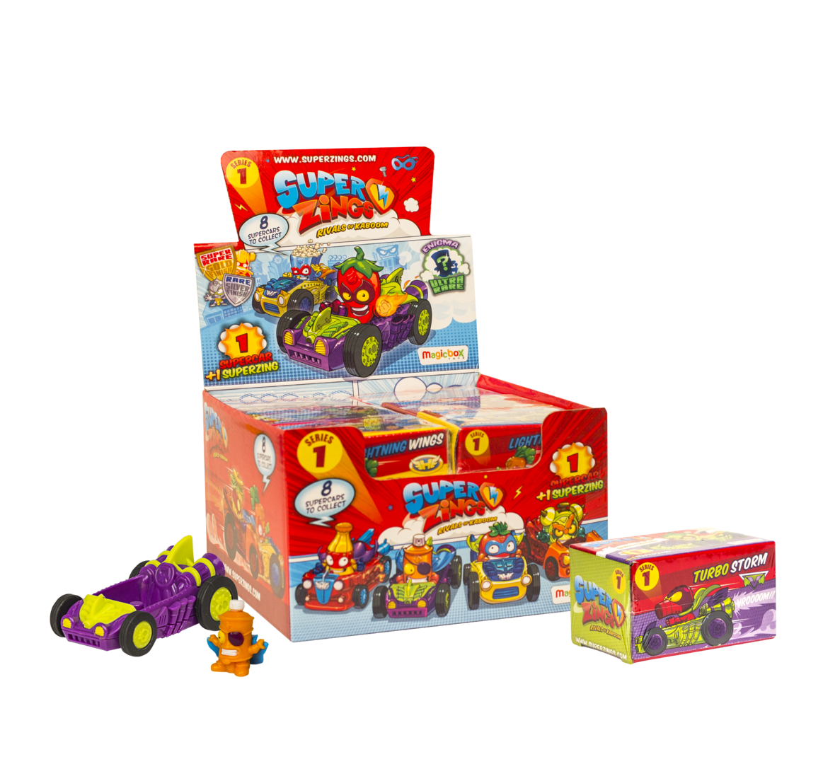Wholesale SuperZings Rivals of Kaboom Series 1 SUPER CAR (12 pc)
