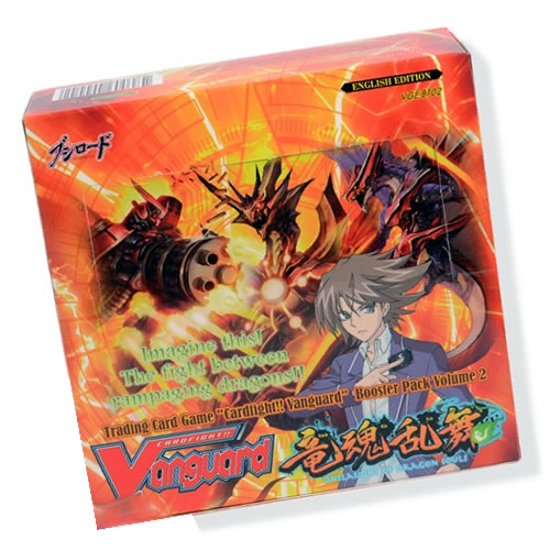 Cardfight Vanguard Onslaught of Dragon Souls Boosters
