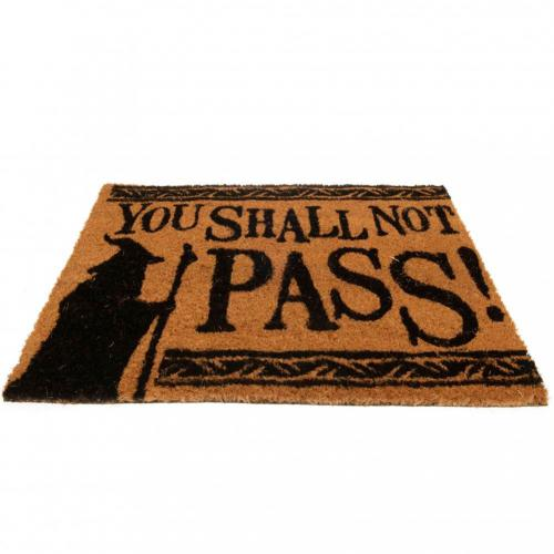 The Lord Of The Rings Doormat