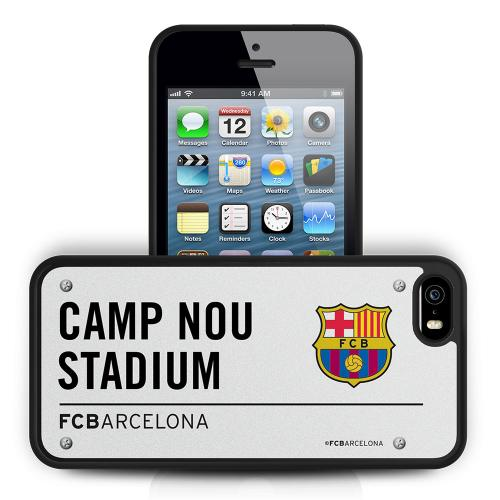 F.C. Barcelona iPhone 5 / 5S / 5SE Hard Case 3D SS