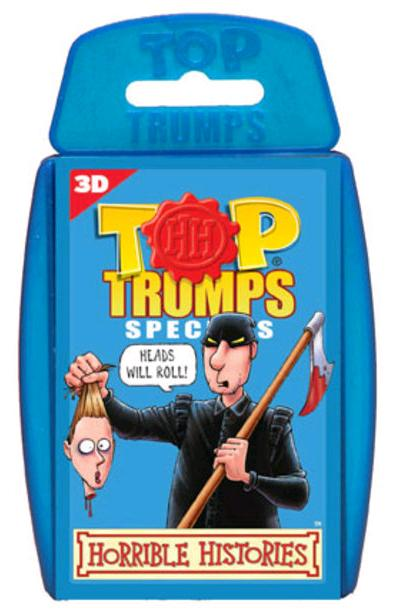 Top Trumps - Horrible Histories 3D (6 packs)